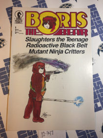 Boris the Bear Issue 1 (1986) Dark Horse Comics, James Dean Smith [12347]