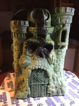 He-Man Masters of the Universe Mattel Toys Castle Greyskull (1981) [216]