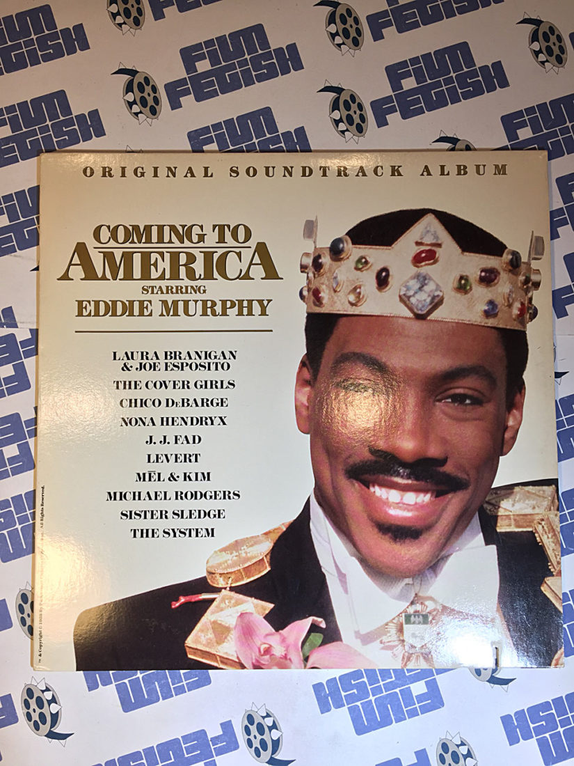 Coming to America Original Vinyl Soundtrack Album (1988)