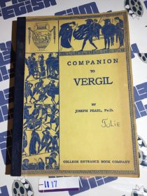 Companion to Vergil by Joseph Pearl (1960) [1117]