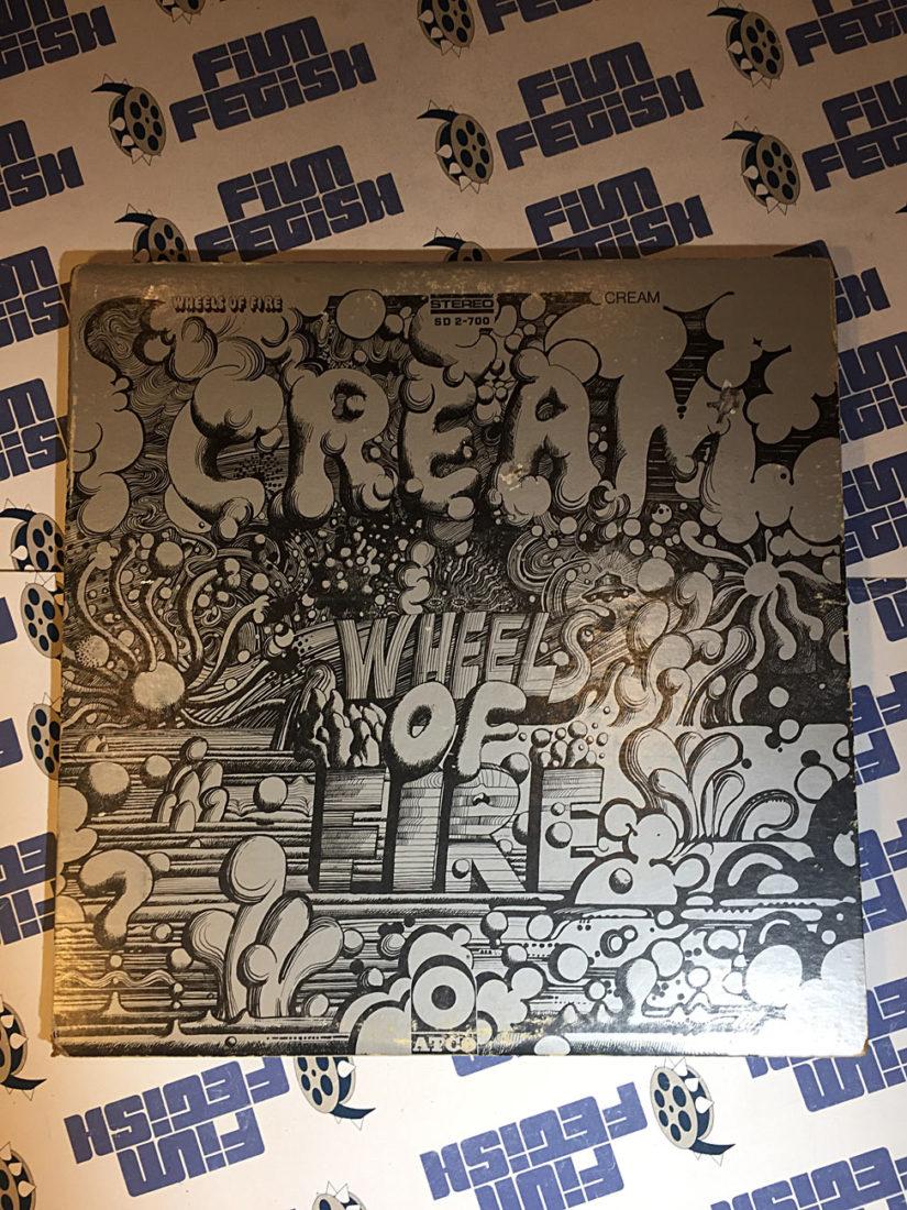 Cream Wheels of Fire Vinyl Edition Atco Atlantic Records in Studio and Live at The Fillmore (1968)