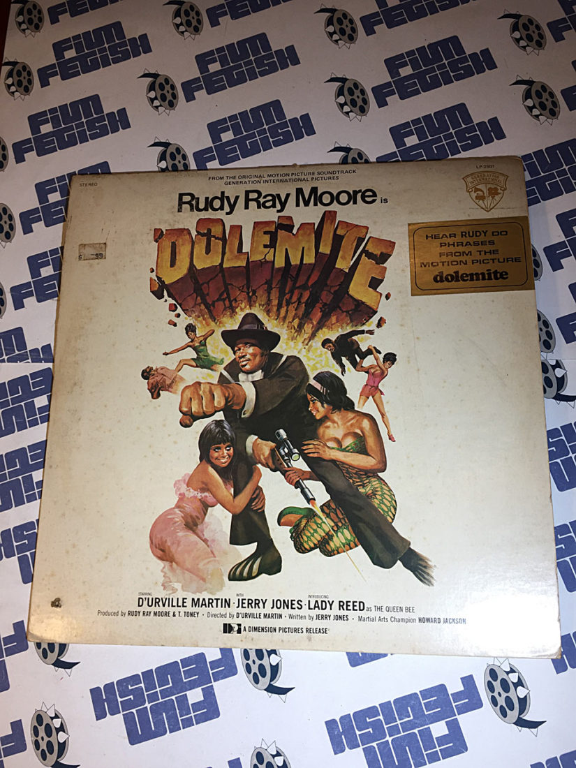 Rudy Ray Moore Dolemite Original Vinyl Edition Motion Picture Soundtrack (1975)