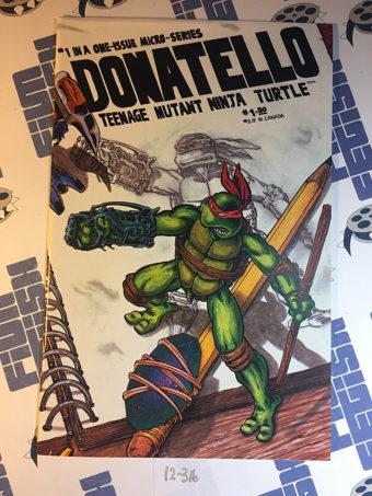 Donatello Micro-Series Teenage Mutant Ninja Turtles (1986) Eastman TMNT [12316]