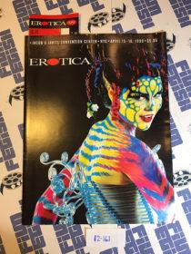RARE Erotica Expo 1999 Program Guide + Ticket New York City, Javits Convention Center [12161]