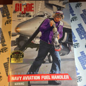 G.I. Joe Classic Collection Navy Aviation Fuel Handler 12 inch Figure (1997) [210]