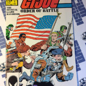 G.I. Joe Order of Battle The Official Handbook Number 1 (November 1986) 1st Printing [12476]