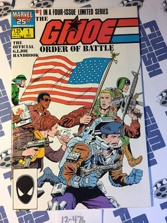 G.I. Joe Order of Battle The Official Handbook Number 1 (November 1986) 1st Printing [12476]
