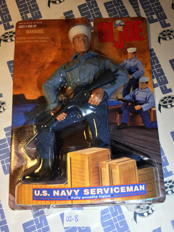 G.I. Joe U.S. Navy Serviceman 12 inch Fully Posable Figure (1997) [028]