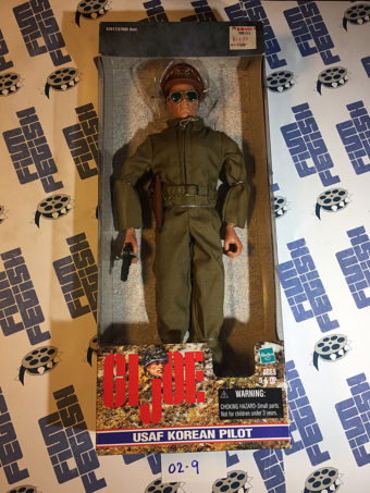 G.I. Joe USAF Korean Pilot 12 inch Hasbro Fully Posable Figure (1999) [029]