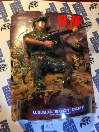 G.I. Joe U.S.M.C. Boot Camp 12 inch Hasbro Fully Posable Figure (1998) [027]