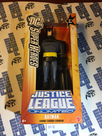 Mattel DC Super Heroes Justice League Unlimited 10 inch Batman Action Figure [211]