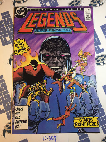 DC Legends Mini-Series Issue Number 1 Comic Book First Issue (November 1986)