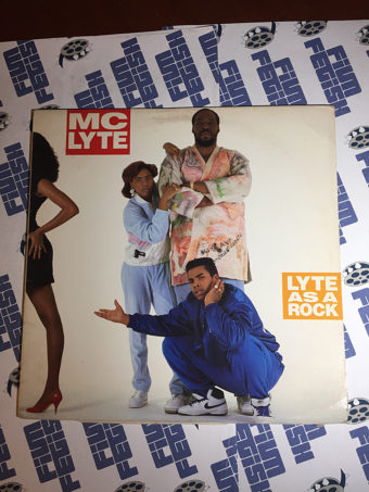 MC Lyte Lyte As a Rock Rare Original Vinyl Edition (1988)