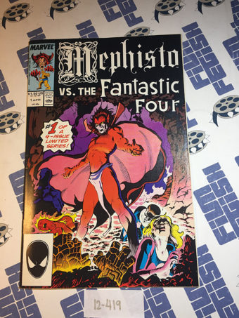 Mephisto vs. the Fantastic Four Limited Series Issue 1 (April 1987) [12419]