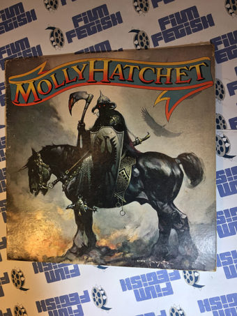 Molley Hatchet LP Record Frank Frazetta Death Dealer Cover Art Epic Records (1978) 35347