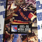 New York Rangers 1995 – 96 Official Media Guide 70th Anniversary Season [1114]
