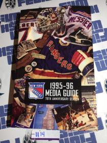 New York Rangers 1995 – 96 Official Media Guide 70th Anniversary Season [1114]
