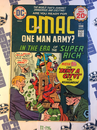 Jack Kirby Editor – OMAC One Man Army Corps Comic Book #2 DC Comics (1974) [12196]