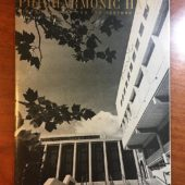 Signed Philharmonic Hall Program by Saturday Review (Nov. 9, 1969) Music of Kurt Weill