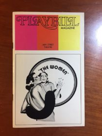46th Street Theatre Playbill Magazine Signed by Kim Hunter for Clare Boothe Luce's The Women (June 1973)