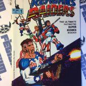 Reagan's Raiders Comic Book Issue 1 (1986) Rich Buckler Cover Art Solson [12237]