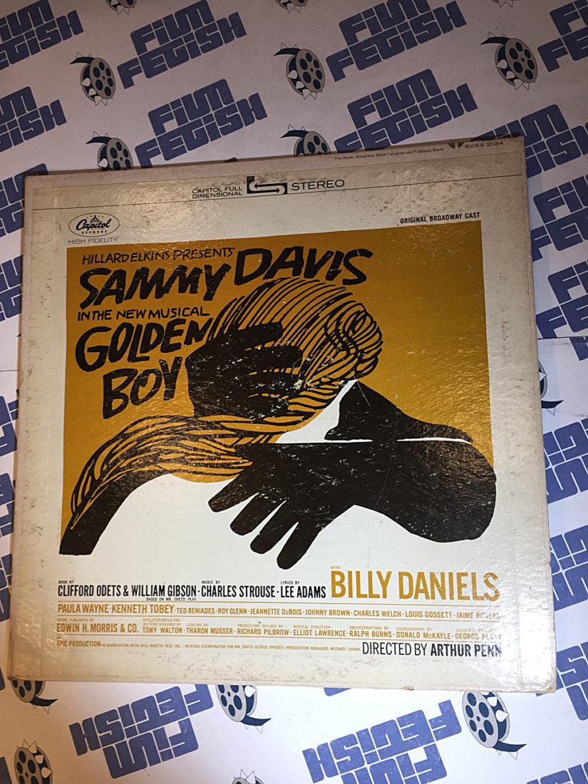 Sammy Davis Jr. Golden Boy Original Broadway Cast Vinyl Album (1964)