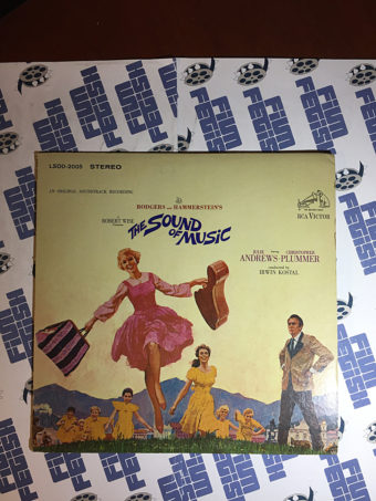 The Sound of Music Original Soundtrack Recording Vinyl (1965) [LSOD-2005]