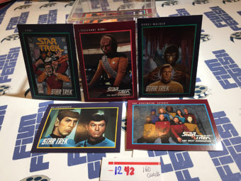 Star Trek 160 Trading Card Set (1991) Impel Company [1242]