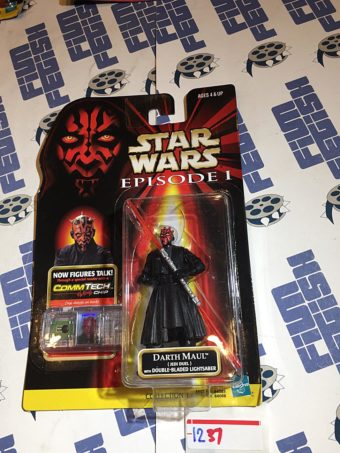 Star Wars: Episode I – The Phantom Menace Darth Maul CommTech Chip Action Figure (1998) [1237]