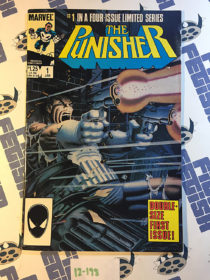 Marvel Comics The Punisher Limited Series Number 1 (1986) 1st Printing [12198]