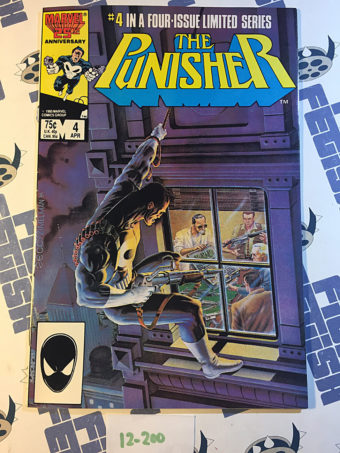 Marvel Comics The Punisher Limited Series Number 4 (1986) 1st Printing [12200]