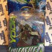 Hasbro Unleashed Star Wars Yoda Action Figure (2003) [1188]