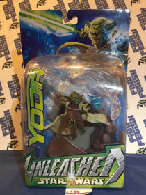 Hasbro Unleashed Star Wars Yoda Action Figure (2003) [1188]