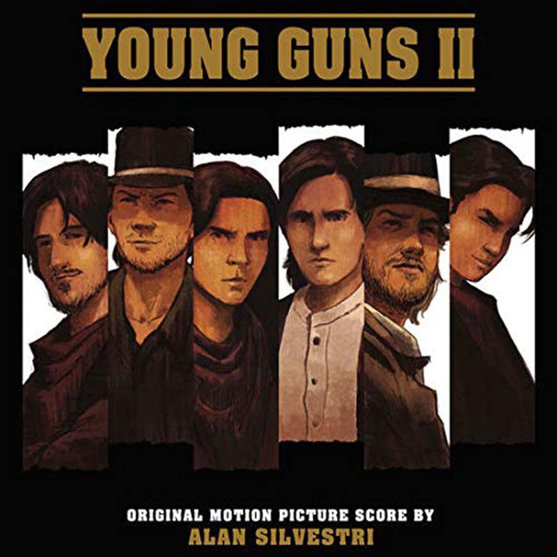 Young Guns II Original Motion Picture Score Soundtrack by Alan Silvestri (2018)