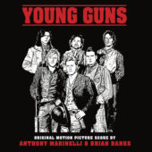 Young Guns Limited Edition Original Motion Picture Soundtrack Score Vinyl (2017)