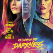 Two posters for We Summon the Darkness