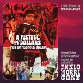 A Fistful of Dollars Original Soundtrack 10 inch Clear Vinyl + Poster by Ennio Morricone