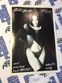 AllSpice Magazine Premiere Edition (1997) Black and White Indie Art & Poetry [12157]