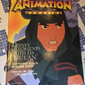 Animation Magazine (1998) Disney Mulan Cover [12164]