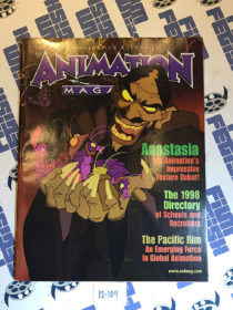 Animation Magazine December 1997 Anastasia, School Directory, The Pacific Rim [12109]