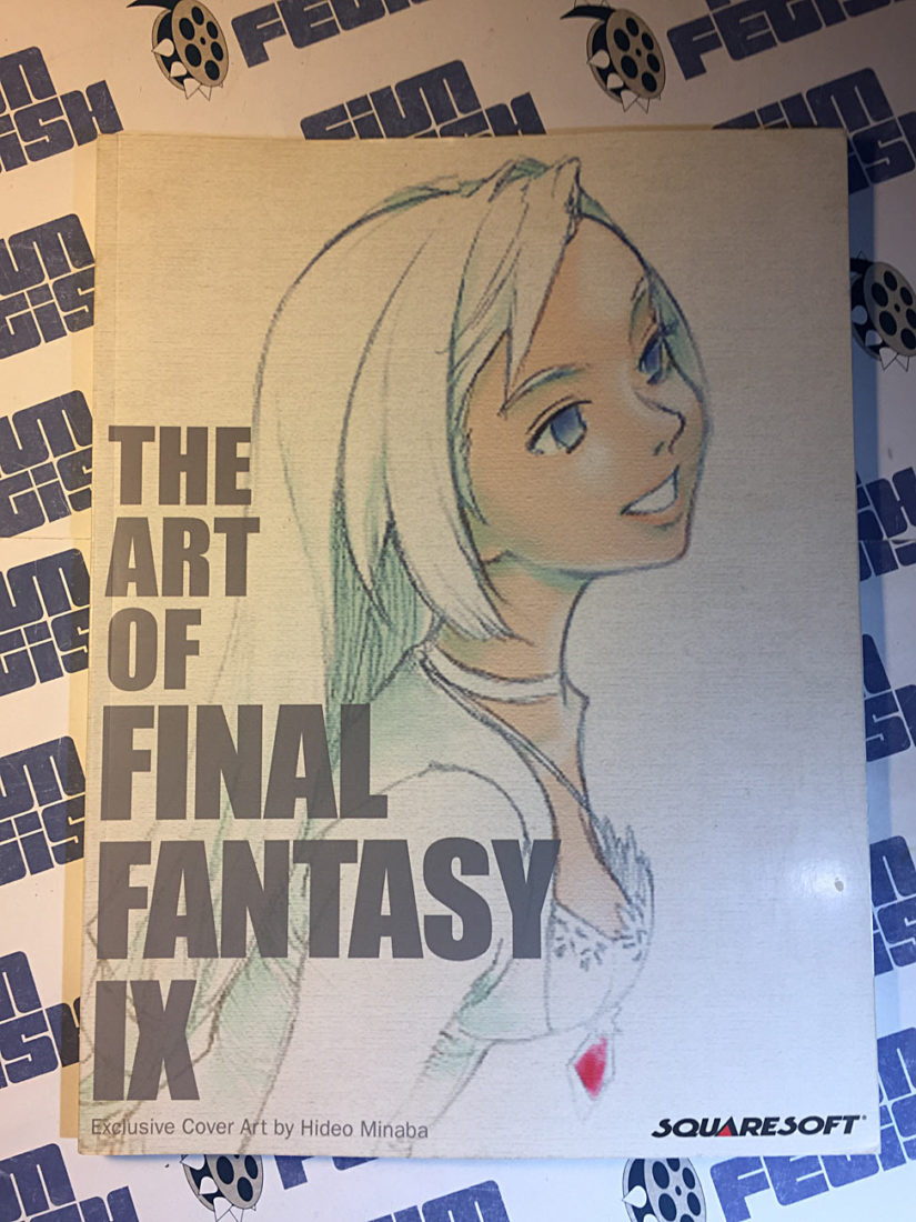 The Art of Final Fantasy Vol. IX by Dan Birlew (2000, Brady Games Paperback) SquareSoft