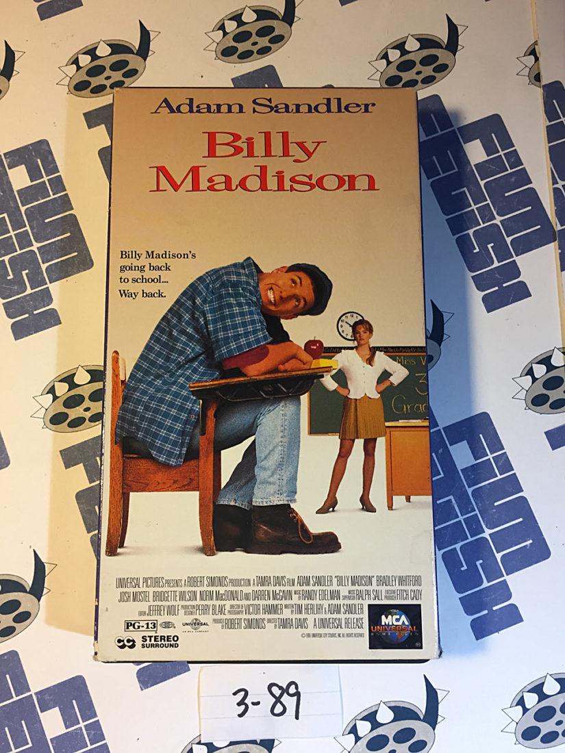 Adam Sandler Billy Madison VHS (1995) [389]