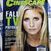 Cinescape Magazine (October 2001, No. 53) Sarah Michelle Gellar [9116]