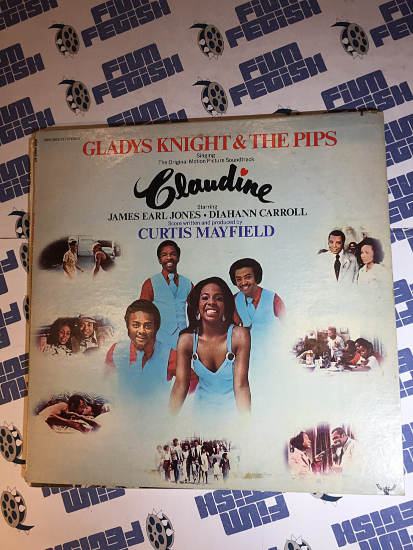 Claudine Original Motion Picture Soundtrack Vinyl Edition (1974) Gladys Knight and The Pips