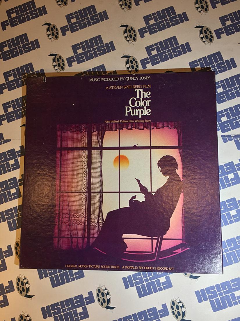 The Color Purple Original Soundtrack 2 LP Vinyl Box Set with Booklet (1986) Quincy Jones