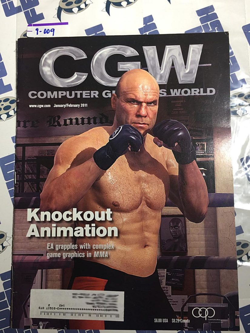 CGW: Computer Graphics World Magazine (Jan/Feb 2011) MMA fighter Randy Couture [9009]