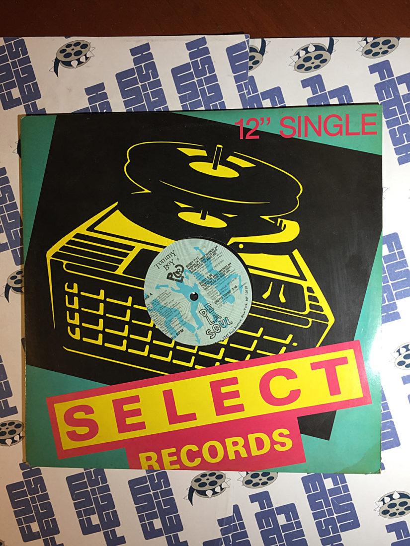 De La Soul: Buddy, Ghetto Thang – Tommy Boy Music Select Records 12 Inch Maxi-Single