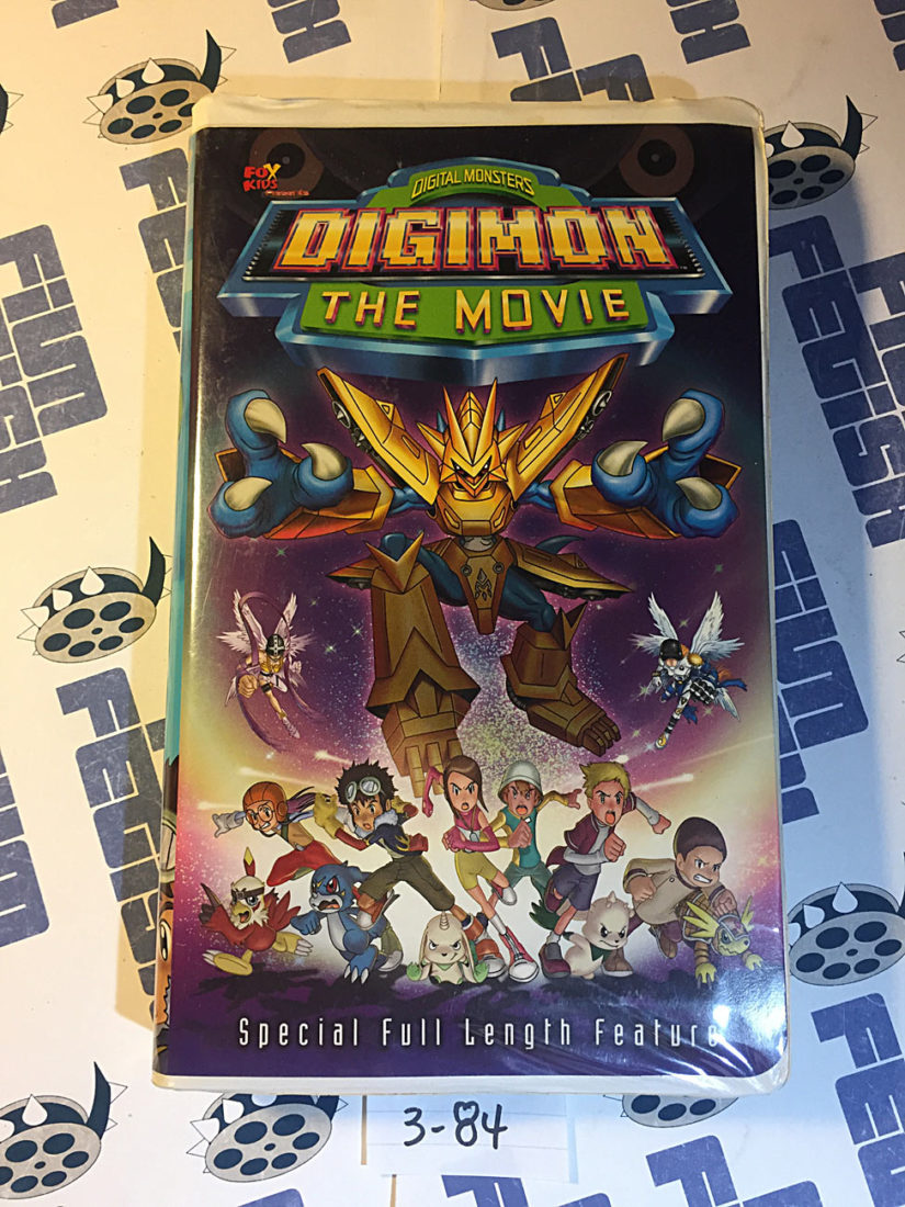 Digital Monsters: Digimon The Movie – Special Full Length Feature VHS