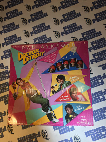 Doctor Detroit Original Motion Picture Soundtrack Vinyl Edition (1983) Devo, James Brown, Lalo Schifrin