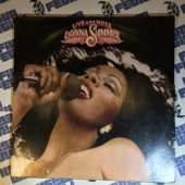 Donna Summer Live and More 2LP Vinyl Edition (1978) Die-cut Sleeve